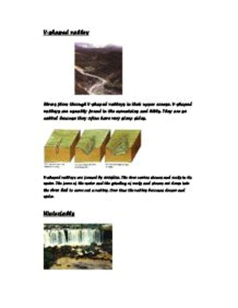 Geography river coursework introduction